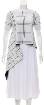 Derek Lam Asymmetrical Knit Top
