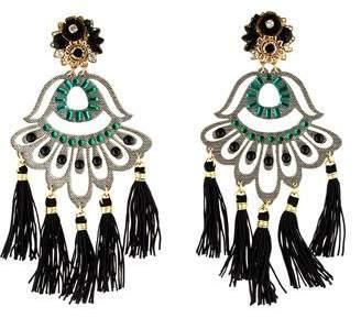 Mercedes Salazar Petite Aurora Aretes Fiesta Earrings