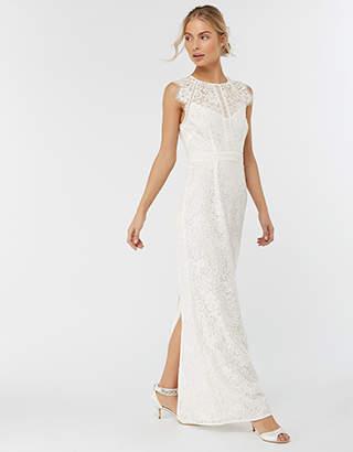 Monsoon Leomie Lace Maxi Bridesmaid Dress