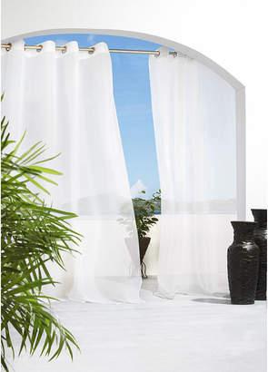 Asstd National Brand Cote DAzure Grommet-Top Outdoor Curtain Panel