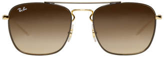Ray-Ban Gold RB3588 Sunglasses