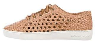 MICHAEL Michael Kors Woven Leather Sneakers