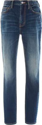 Current/Elliott Stiletto High-Waist Slim-Leg Jeans