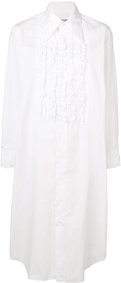 Comme des Garcons Pre-Owned 1999's ruffled bib shirt dress
