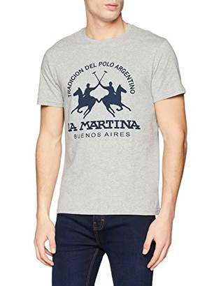 c6e150b017 La Martina Men's Man T-Shirt Stretch Co Jersey Kniited Tank Top