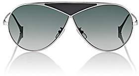 Loewe Women's Puzzle Medium Sunglasses-Shiny Rhodium And Gradient Smoke