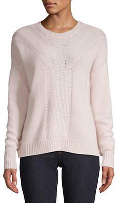 Autumn Cashmere Boxy Long-Sleeve Sweater