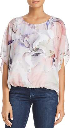 Vince Camuto Diffused Blooms Batwing Top - 100% Exclusive