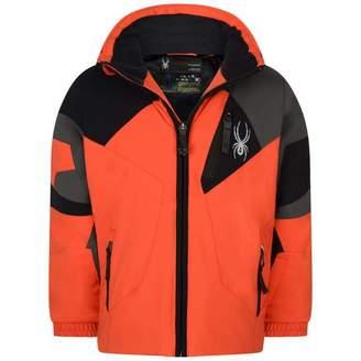 Spyder SpyderOrange & Black Mini Leader Jacket