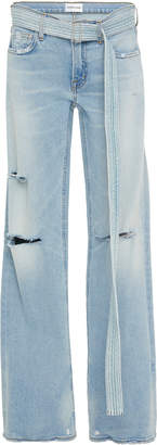 Cotton Citizen Belted Mid-Rise Boyfriend Jeans