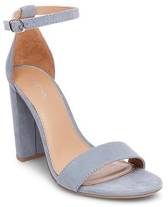 Merona Women's Lulu Wide Width High Block Heel Sandal Pumps with Ankle Straps $29.99 thestylecure.com
