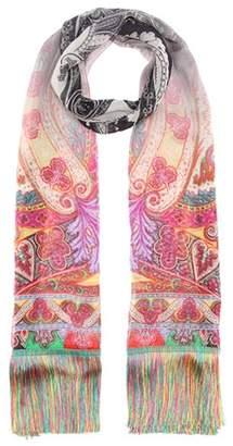 Astronomy-print silk scarf Etro xwSPwZO