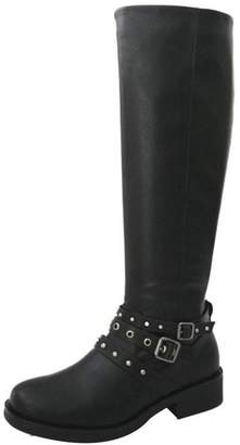 Bamboo Studded Riding Boot