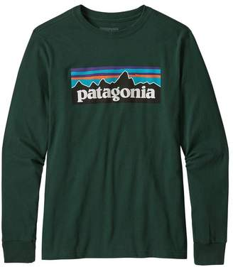 Patagonia Boys' Long-Sleeved Graphic Organic T-Shirt