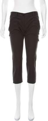 Prada Sport Low-Rise Cargo Pants