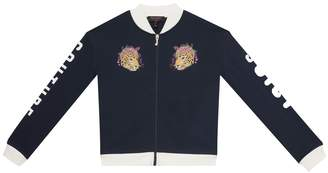 Juicy Couture French Terry Jaguar Graphic Jacket for Girls