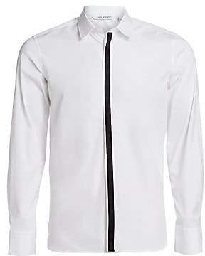 Neil Barrett Men's Cotton-Blend Tuxedo Shirt