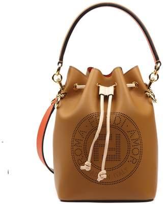 Fendi Camel Leather Mon Tresor Bag