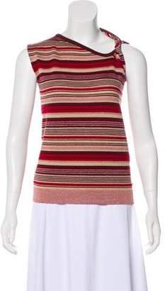 Zero Maria Cornejo Striped Wool Top
