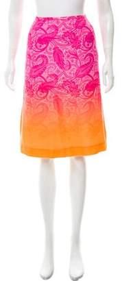 Jonathan Saunders Printed Knee-Length Skirt