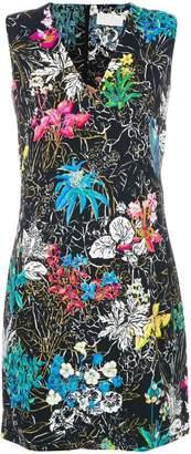 Peter Pilotto floral print mini dress