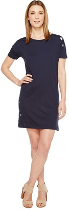 Alternative - Cotton Modal Straight Up T-Shirt Dress Women's Dress $58 thestylecure.com