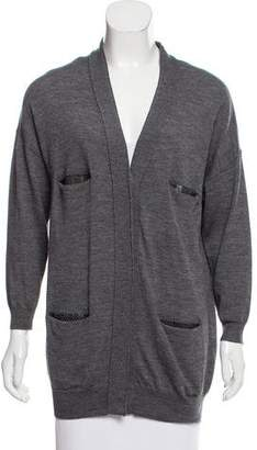 3.1 Phillip Lim Button Up Wool Cardigan