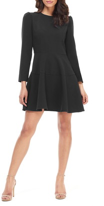 Gal Meets Glam Celeste Fit & Flare Dress