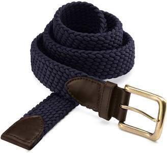 Charles Tyrwhitt Navy Stretch Belt Size 30-32
