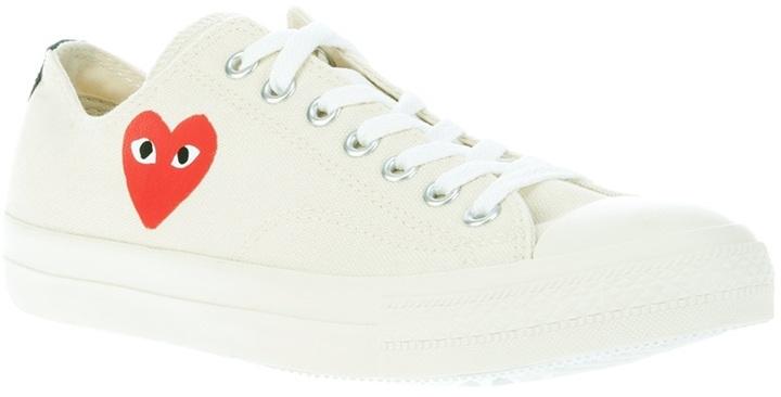 Comme des Garcons Logo print sneaker