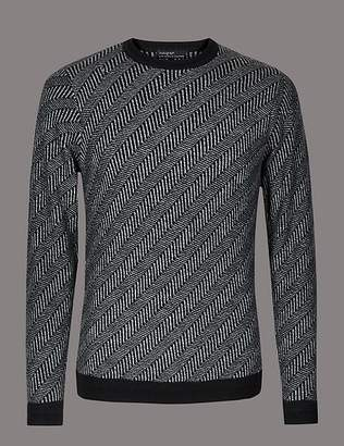 Marks and Spencer Slim Fit Jumper with Merino and Cashmere