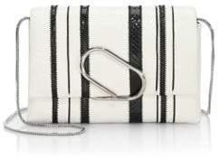 3.1 Phillip Lim Alix Soft Flap Leather Shoulder Bag