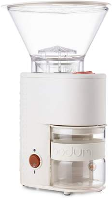 Bodum Bistro Electric Conical Burr Coffee Grinder, Off White 10903-913US