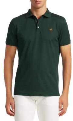 Ralph Lauren Purple Label Three-Button Short Sleeve Polo Shirt