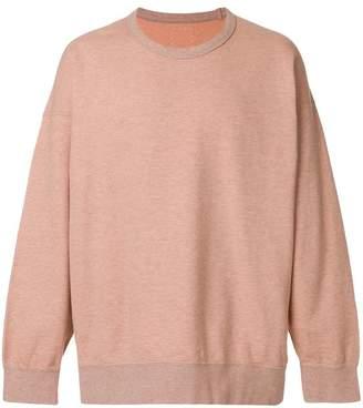 Visvim crew neck sweatshirt