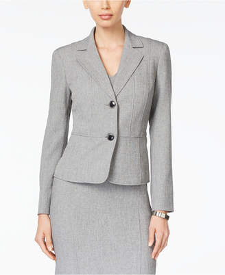 Kasper Two-Button Jacket, Regular & Petite