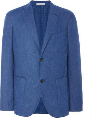 Boglioli Luxe Panama Cashmere-Blend Blazer