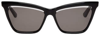 McQ Black Iconic Sunglasses