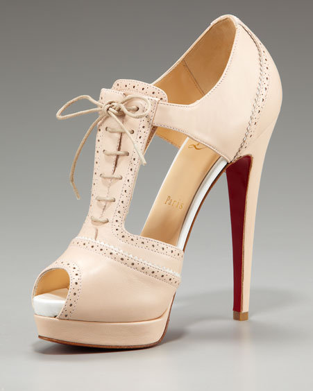 Christian Louboutin Meree Lace-Up Bootie