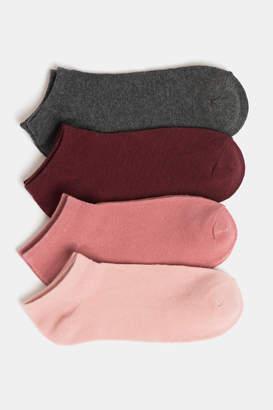 Ardene 4 Pairs of Cotton Ankle Socks