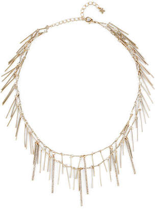 BCBGMAXAZRIA Pave Stick Necklace