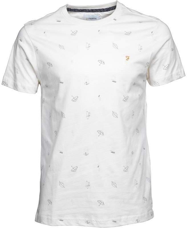 Herren Tritonville T-Shirt Ecru