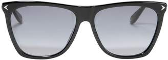 Givenchy Black Shield Sunglasses