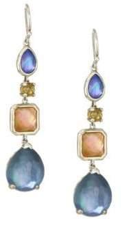 Ippolita Rock Candy Sterling Silver& Multi-Stone Drop Earrings