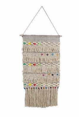 Bungalow Rose Colorful Macrame Wall Hanging