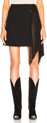Givenchy Pleated Ruffle Skirt