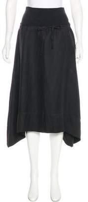 Kenzo Drawstring Knee-Length Skirt