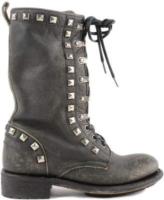 Ash Rango Studded Lace-up Boots