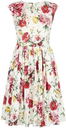 Dolce & Gabbana Floral Cotton Sundress