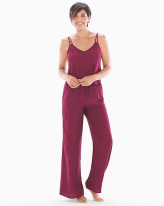 In Bloom Jacquard Cami and Pants Pajama Set